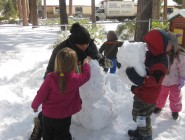 Snow at Incline Village Nursery School